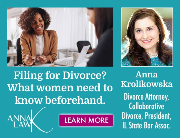 Anna K. Law- Filing for Divorce? What women need to know beforehand.