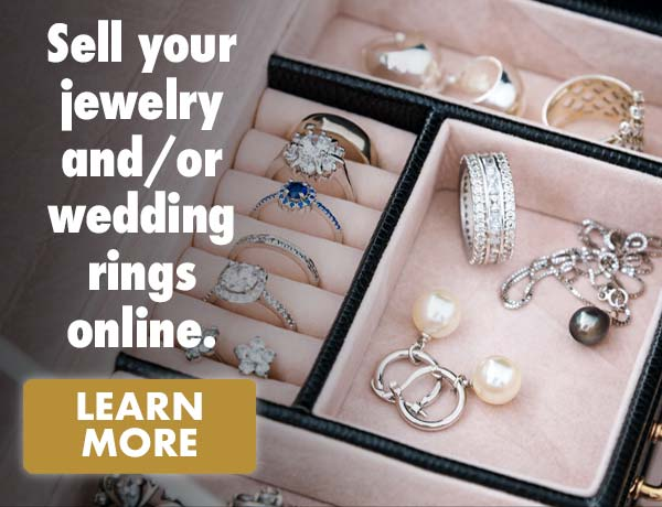 Sell your jewelry and/or wedding rings online.