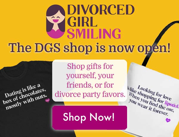 Divorced Girl Smiling Etsy Shop