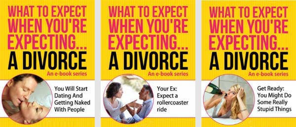 Divorce advice e-books