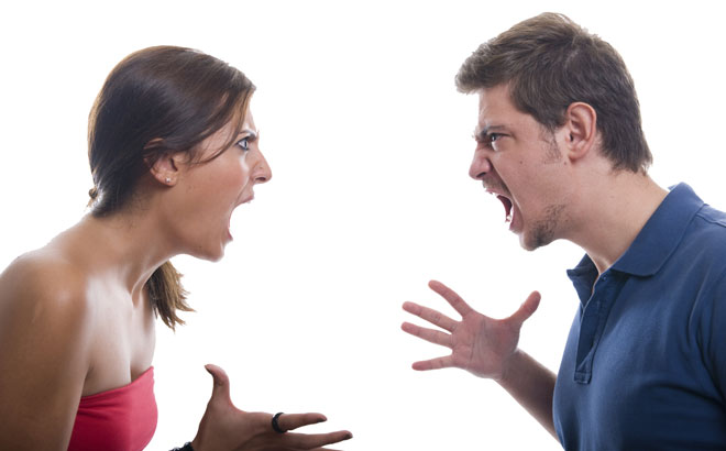 argument with your spouse