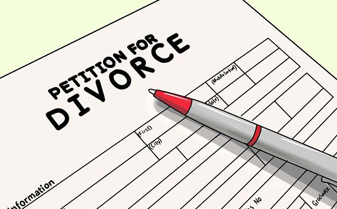 what happens after divorce papers are filed