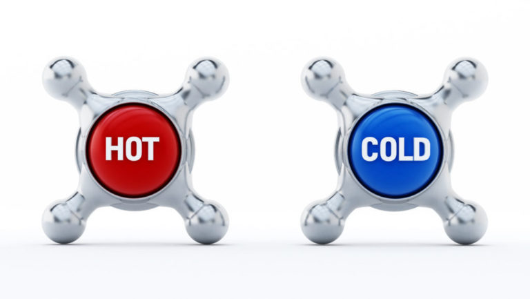 dating someone who is hot and cold