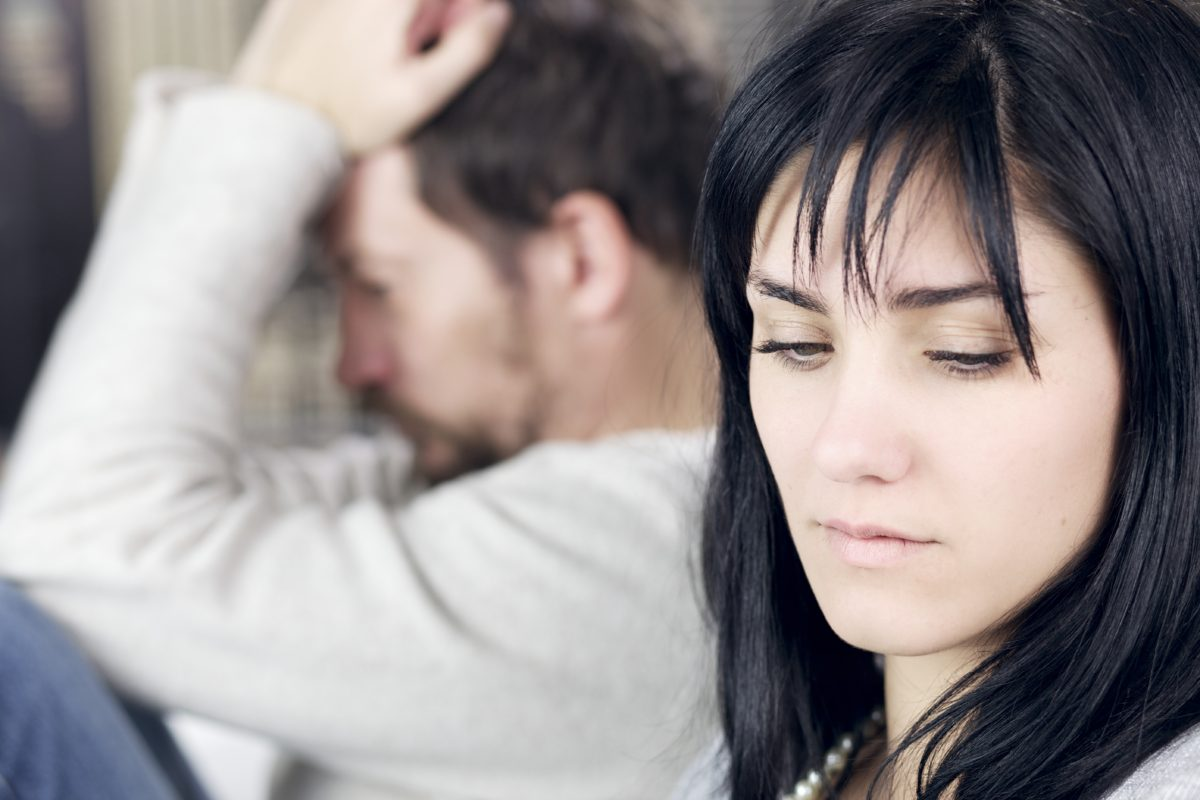 staying in an unhealthy marriage