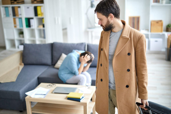 when a spouse leaves the marital home