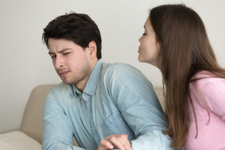 my husband is not affectionate or romantic
