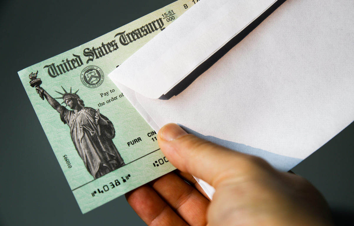 child support and the federal stimulus check