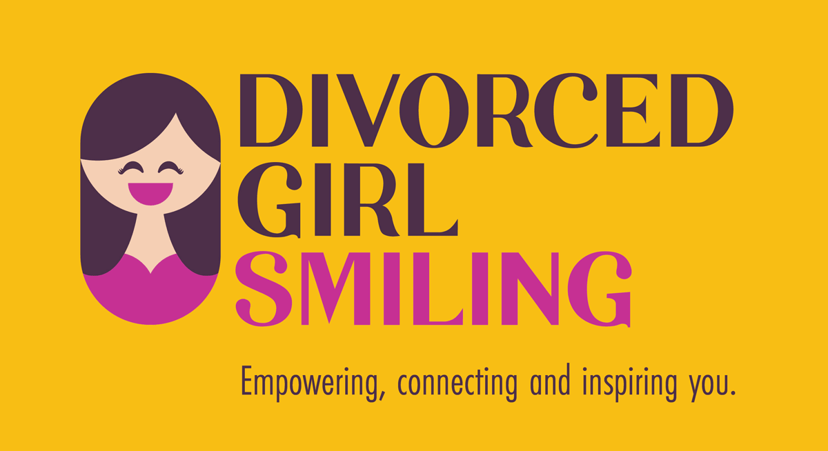 Divorced Girl Smiling. Empowering, connecting and inspiring you.
